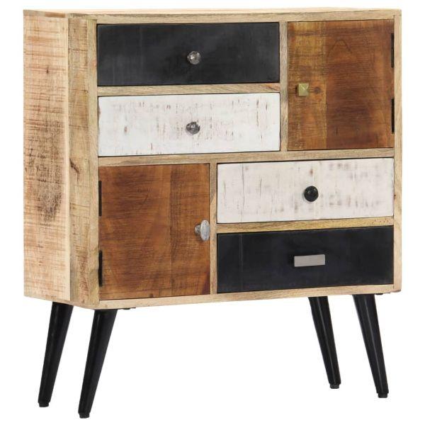 klassische Cheltenham Sideboard 70x30x78 cm Mango-Massivholz