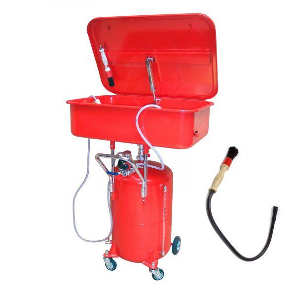 Teilewaschgerät / Teilereiniger mobil 65 Liter + Reinigungspinsel