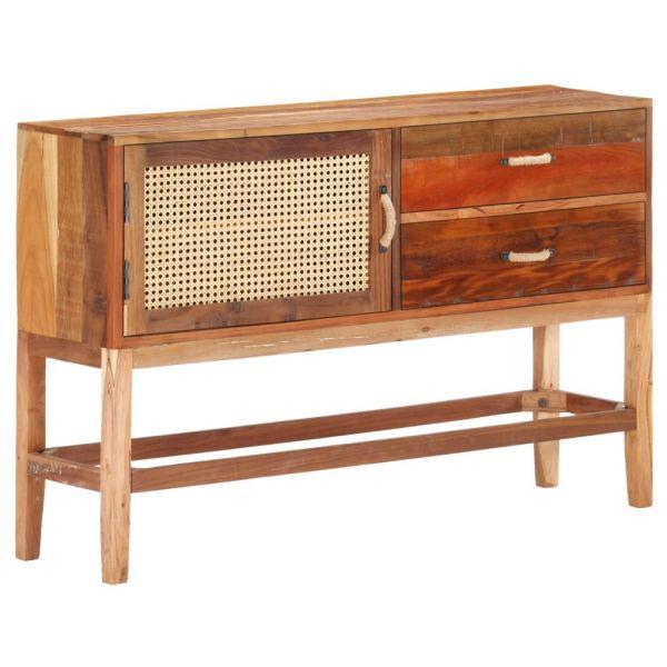 grandiose Sideboard 118 x 30 x 76 cm Recyceltes Massivholz Brentwood