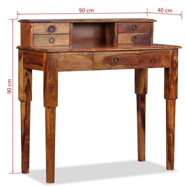 wunderschöne Vitoria-Gasteiz wunderschöne Marseille Schreibtisch mit 5 Schubladen Massivholz 90x40x9