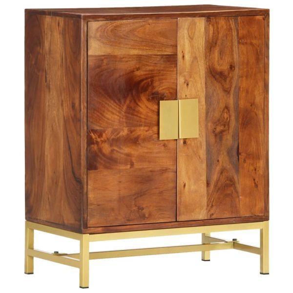 ausgezeichnete Sideboard 60 x 35 x 75 cm Massivholz Akazie Dartford