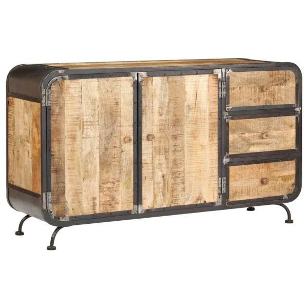 Schöne Norwich Sideboard 140 x 40 x 80 cm Mango-Massivholz