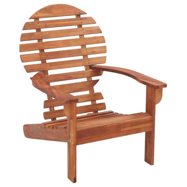 Moderne Adirondack-Stuhl Massivholz Akazie Janské Lázně