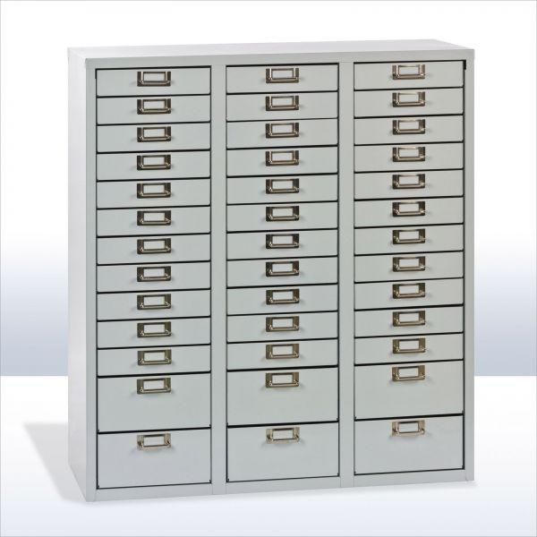 ADB Schubladencontainer / Schubladenschrank 39 Schubladen 860x790x365 mm