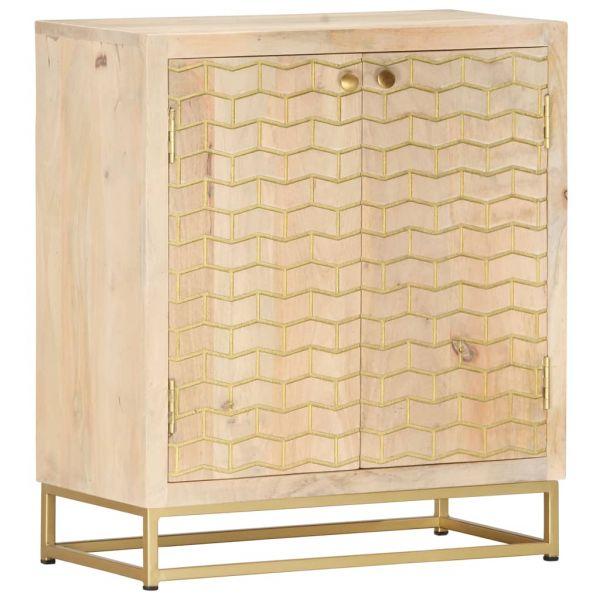 Schöne Sideboard Golden 60 x 30 x 70 cm Mango-Massivholz Canterbury