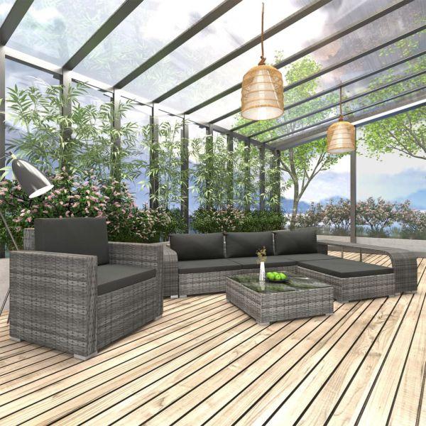 Lounge Garten-Sofagarnitur ' Imperia ' Gartenmöbel