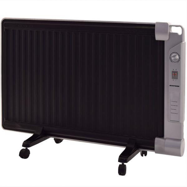 Modernes Lidingoe Hybridheizer Wärmewelle + Ölradiator Kombi