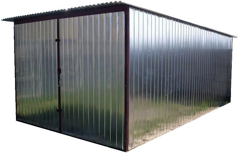 garage metall ger teschuppen gartenhaus aus metall neu inkl lieferung versandkostenfrei verzinkt. Black Bedroom Furniture Sets. Home Design Ideas