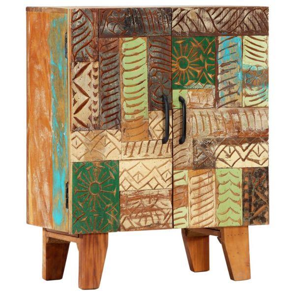 bildschöne Sideboard Handgeschnitzt 60 x 30 x 75 cm Recyceltes Massivholz Welwyn Garden City