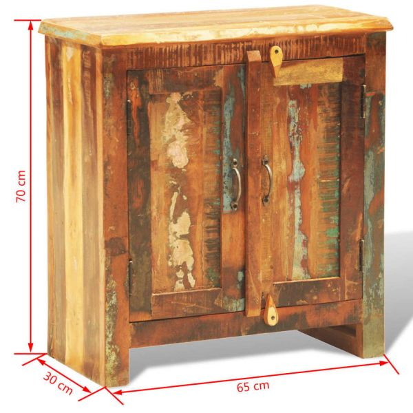 traumhafte Chelmsford Anrichte mit 2 Türen Altholz Massivholz Vintage