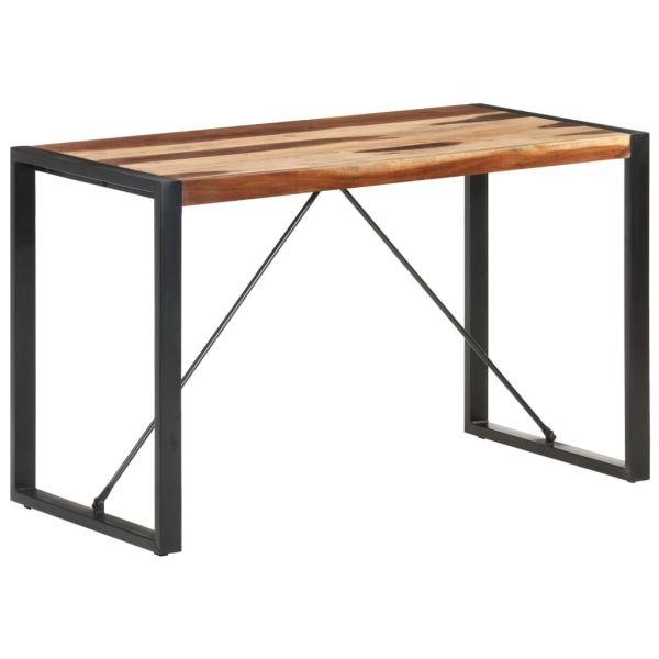 ausgezeichnete Esstisch 120x60x75 cm Massivholz mit Palisander-Finish Mattersburg