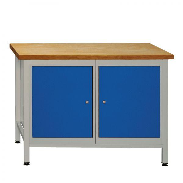 ADB Werkzeugtisch / Werkbank mit 2 Türen