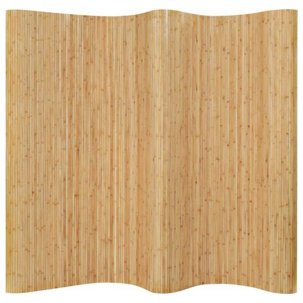 Fabelhafte Cinisello Balsamo Raumteiler Bambus 250x165 cm Natur