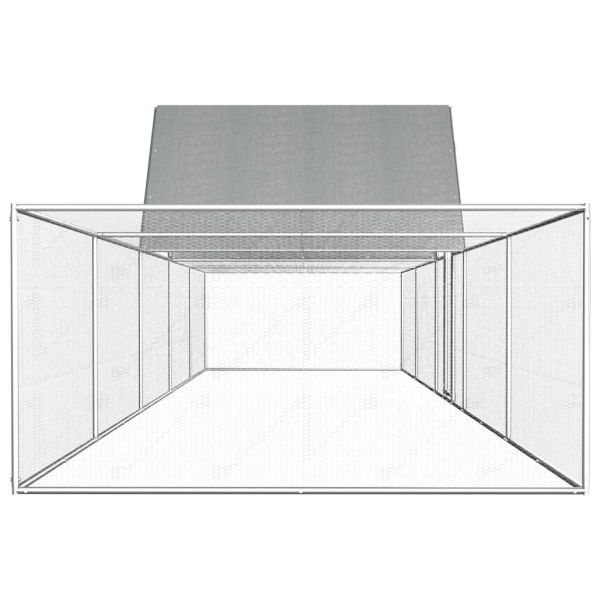 Qualitative Ploiesti Hühnerstall Hühnervoliere10 x 2 m