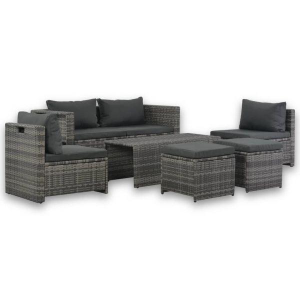 Lounge Sitzgruppe ' Merlin ' Gartenmöbel