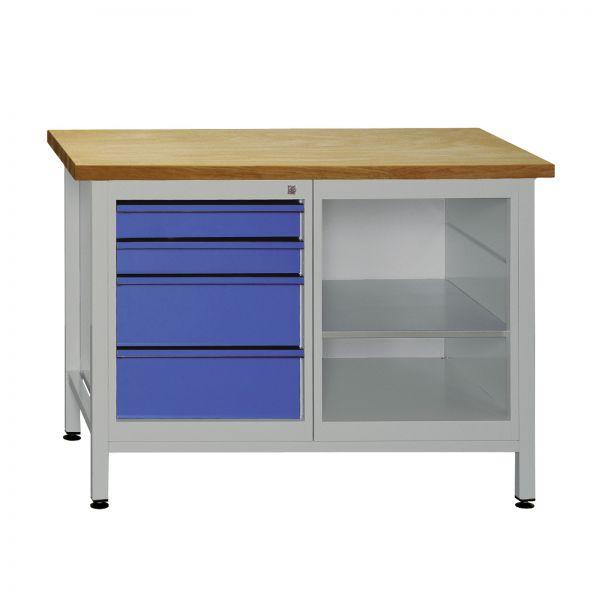 ADB Werkzeugtisch / Werkbank mit 4 Schubladen