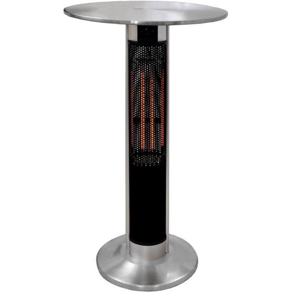 Kraftvolle Falun Tisch Terrassenheizer 1600 Watt Terrassenstrahler Heizstrahler