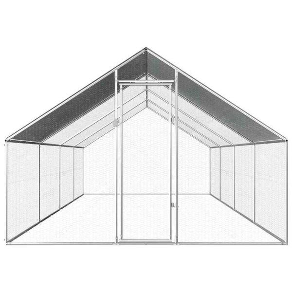 Hühnerstall Hühnervoliere 2,75 x 8 m