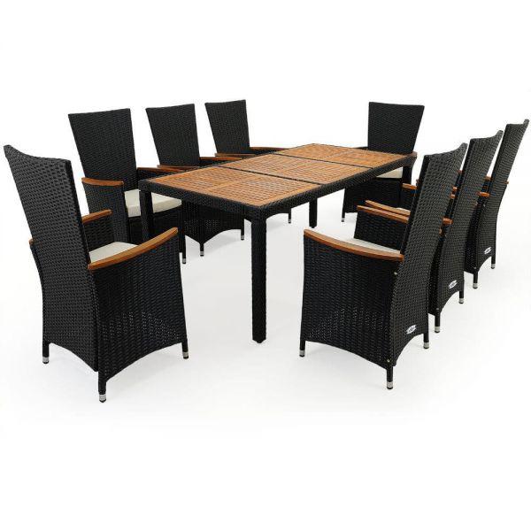 Hochwertige Sitzgruppe 17-teilig ''Almo''