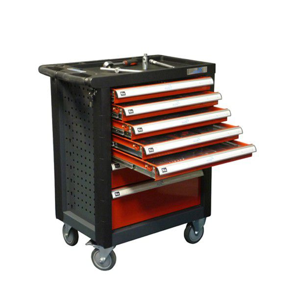 ADB Werkstattwagen / Werkzeugwagen AVANT bestückt mit Werkzeug-Set