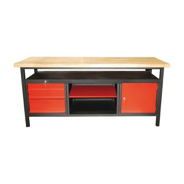 Werkbank / Werktisch XL 1700 Türe / Schubladen / Ablage