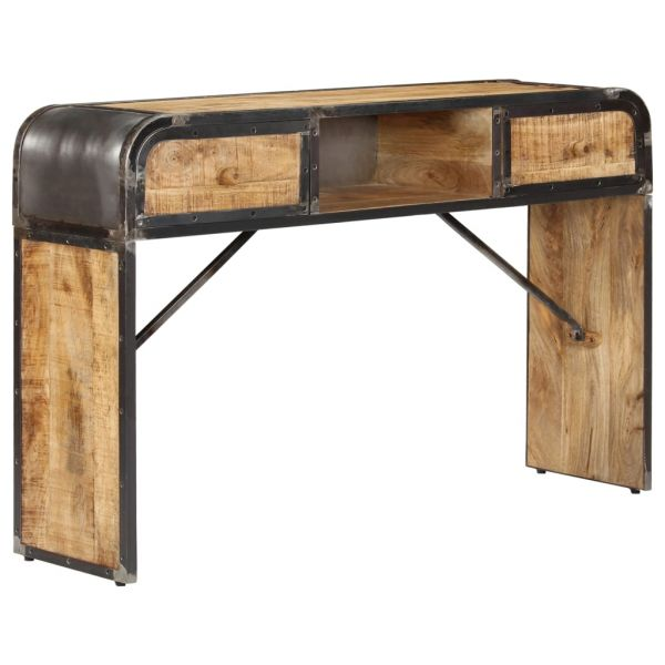 grandiose Sideboard 120 x 30 x 75 cm Mango-Massivholz Loughborough