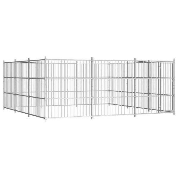 Hochwertige Hundezwinger Hundekäfig 435 x 435 x 185 cm