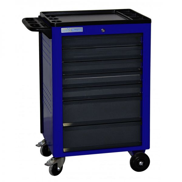 ADB Werkstattwagen Basic mit 7 Schubladen blau