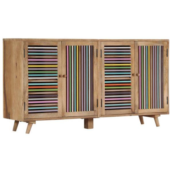 bildschöne Blackburn Sideboard 150 x 30 x 75 cm Massivholz Mango
