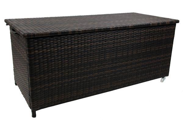 xxl aufbewahrungsbox gartenbox auflagenbox gartentruhe kissenbox brownie. Black Bedroom Furniture Sets. Home Design Ideas