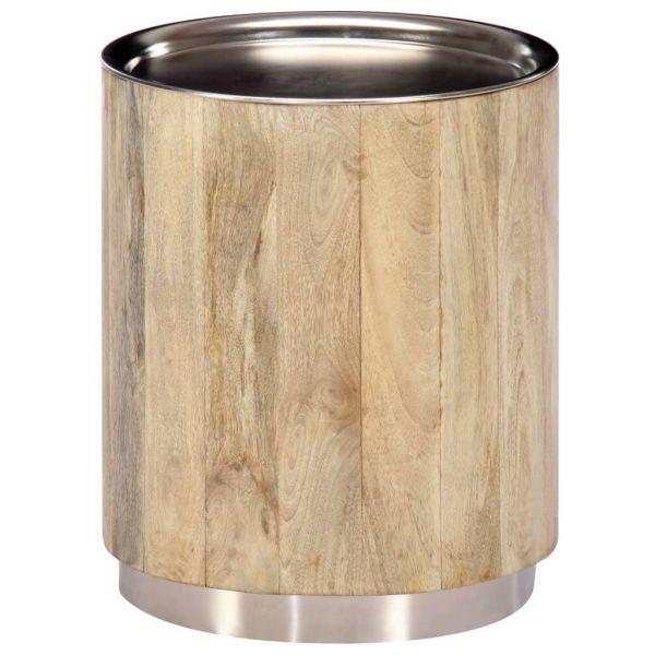 hervorragende Couchtisch 38 x 45 cm Massivholz Mango Athy