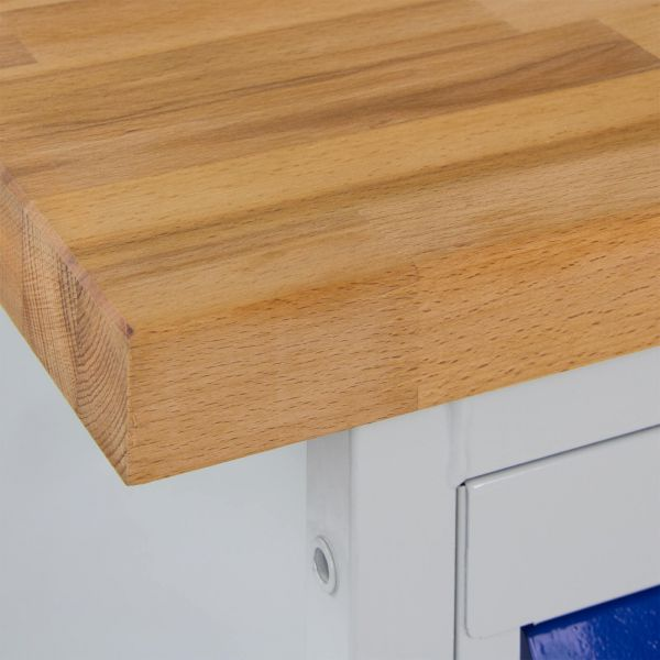 ADB Werkbank / Tischwagen 2 Türen mit Fachboden