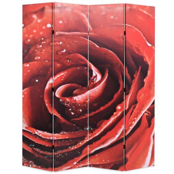 Prachtvolle Giugliano in Campania Raumteiler klappbar 160 x 170 cm Rose Rot