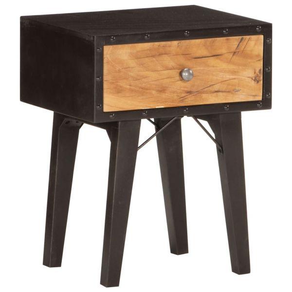 Schöne Nachttisch 40 x 30 x 50 cm Recyceltes Massivholz Volda