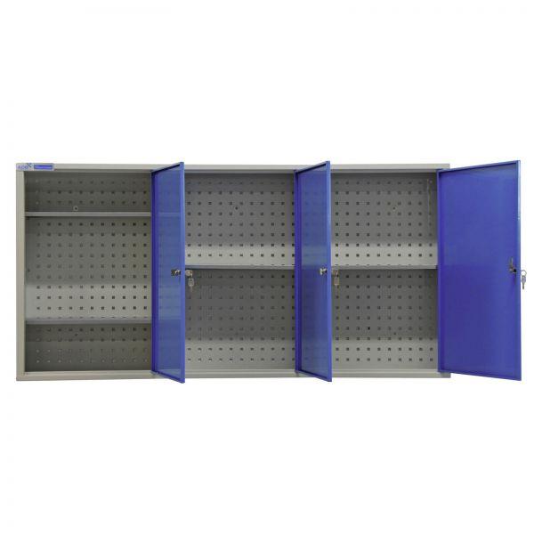 ADB Werkzeug Hängeschrank / Wandschrank 3 Türen 750x1500x200 mm