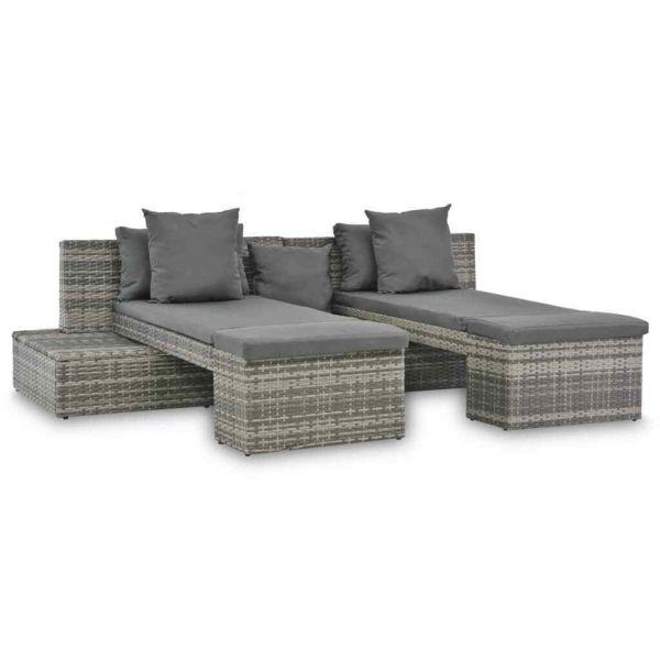 Lounge-Set Sonnenliege '' Bran ''
