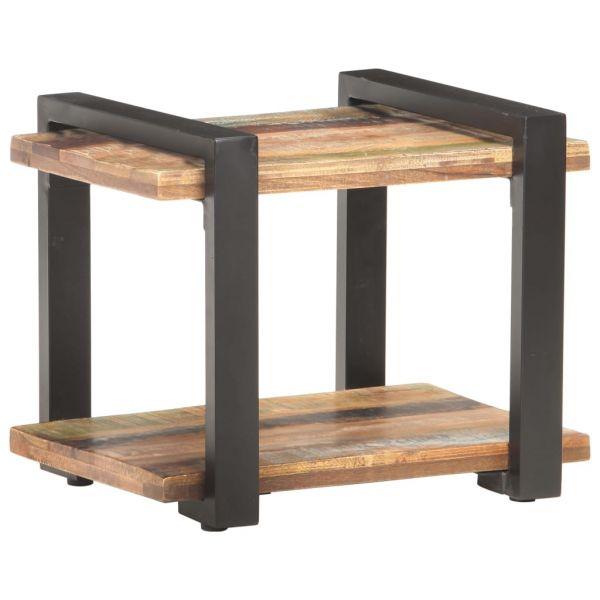 ausgezeichnete Nachttisch 50x40x40 cm Recyceltes Massivholz Lillestrøm