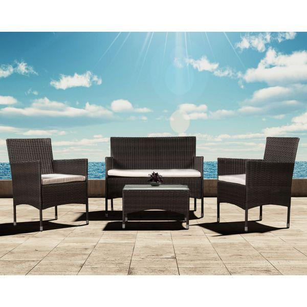 Polyrattanrattan Lounge Set Sitzgruppe
