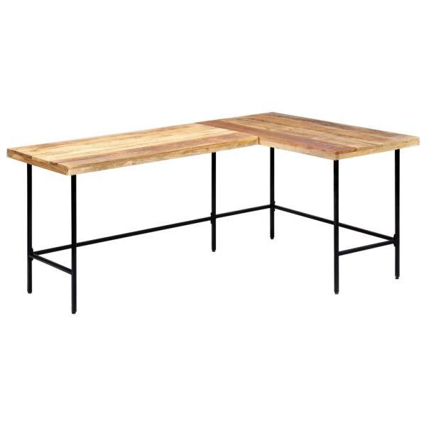 klassische Schreibtisch 180x120x76 cm Mango Massivholz Santander