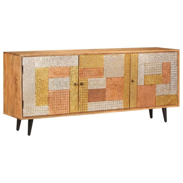 klassische York Sideboard Braun 180 x 40 x 78 cm Massivholz
