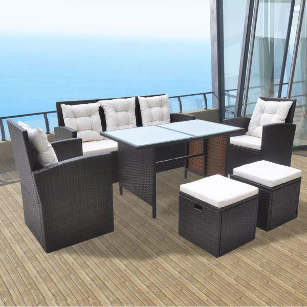 Lounge Garten-Sitzgruppe Sitzgarnitur '' Mina B ''