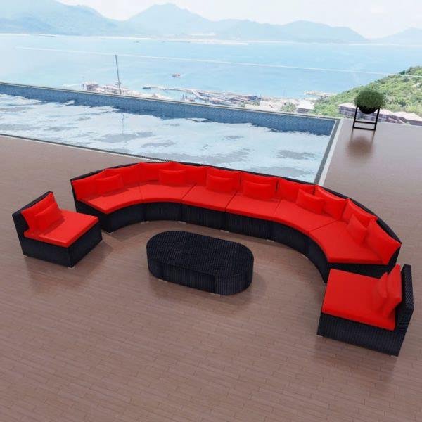 Moderne Lounge Sitzgruppe Sitzgarnitur