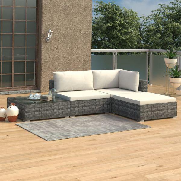 Lounge Sitzgruppe Polyrattan ' Sunny '