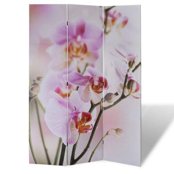 Traumhafte Milan Raumteiler klappbar 120 x 170 cm Blume