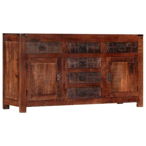 traumhafte Slough Sideboard 140 x 40 x 76 cm Massivholz Mango