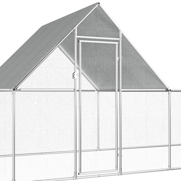 Robuster Hühnerstall Hühnervoliere 14 x 2m