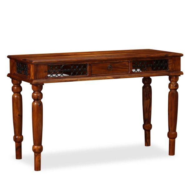 wunderschöne Schreibtisch Massivholz 120 x 50 x 76 cm Cartagena