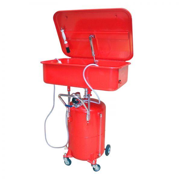Teilewaschgerät / Teilereiniger mobil fahrbar 65 Liter