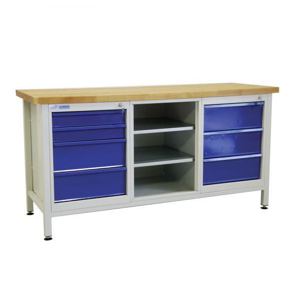 ADB Werkbank / Werktisch mit 7 Schubladen