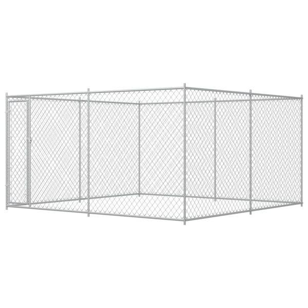 Kompakter Outdoor-Hundezwinger 383x383x185 cm Gdynia